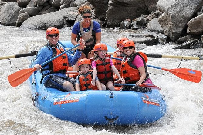 Bighorn Sheep Canyon Rafting in Colorado