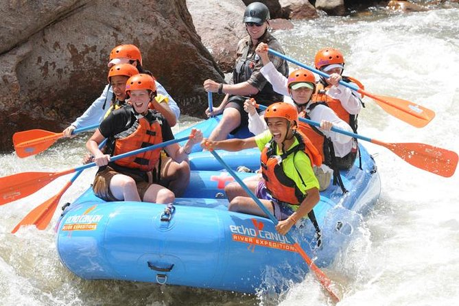 Royal Gorge Half Day Rafting Experience