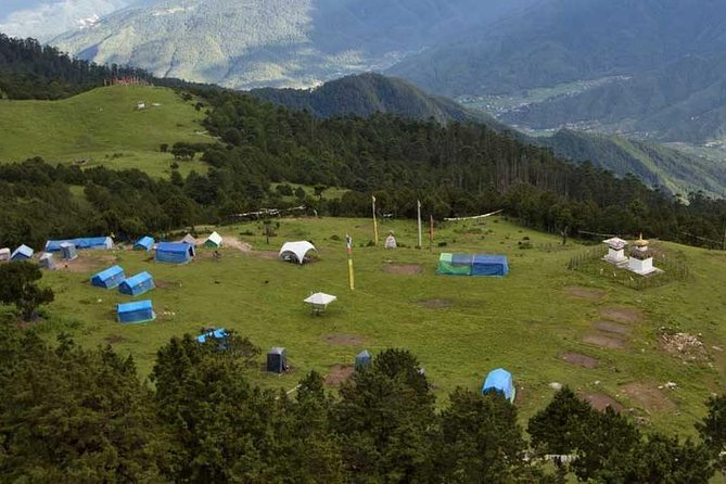 Bhutan Cultural Tour with 2-Day Easy Trek Bumdrak Mountain Meadow