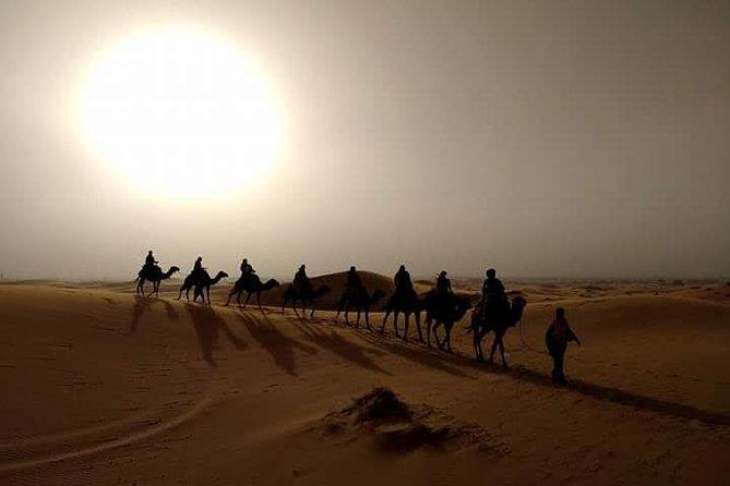 Private 3 Days Desert trip from Marrakech to Fes via Merzouga Desert