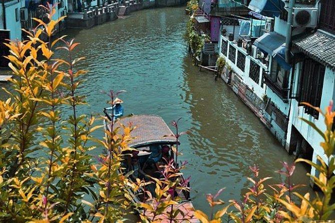 Tour privado: Zhujiajiao Water Town y Qibao Ancient Town de Shanghai