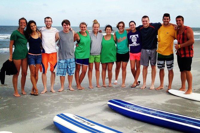 College crew surfing it up!