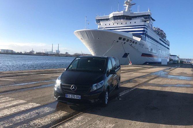 Paris Airport pick up to Cruise ports ( Le Havre, Rouen, Honfleur) 4 to 6 Pax