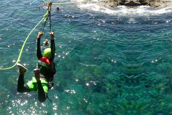 Coasteering experience in Gran Canaria