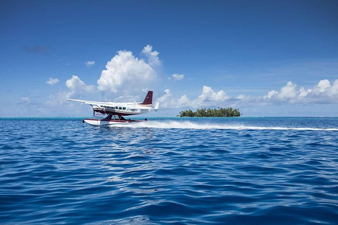 Taha'a Day Trip from Bora Bora by Seaplane