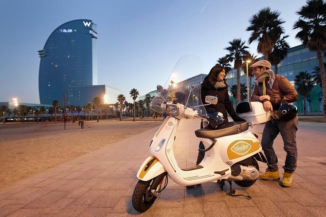 Vespa Scooter GPS Guided 6-hour Tour in Barcelona