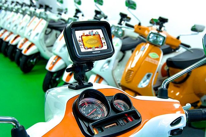 GPS Scooter Rental in Barcelona