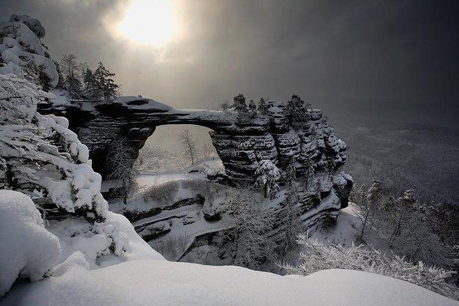 Wintereditie Boheemse en Saksische Zwitserland-tour vanuit Dresden