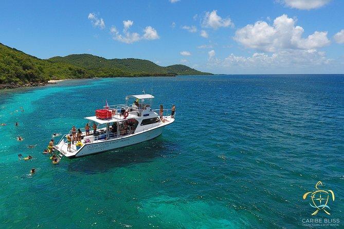 All Inclusive Snorkel and Beach Boat Tour to Culebra