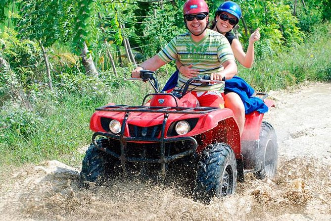 Punta Cana 4x4 ATV Adventure and Macao Beach Half-Day Tour