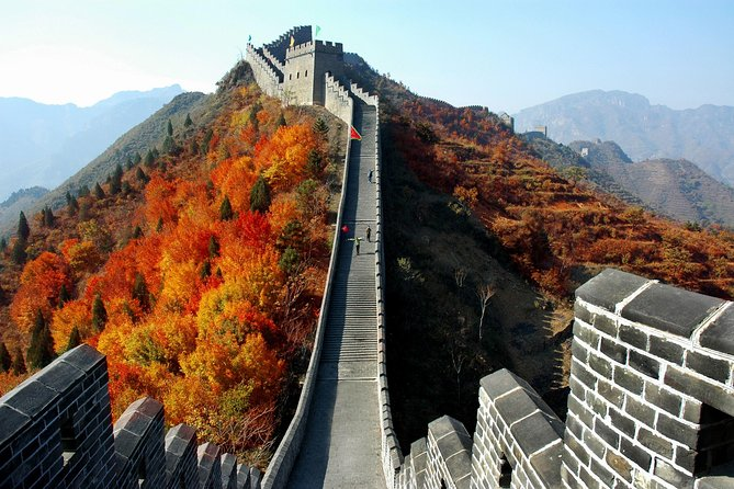 Private Hiking Day Tour Huangyaguan Great Wall & Qing Tombs from Beijing