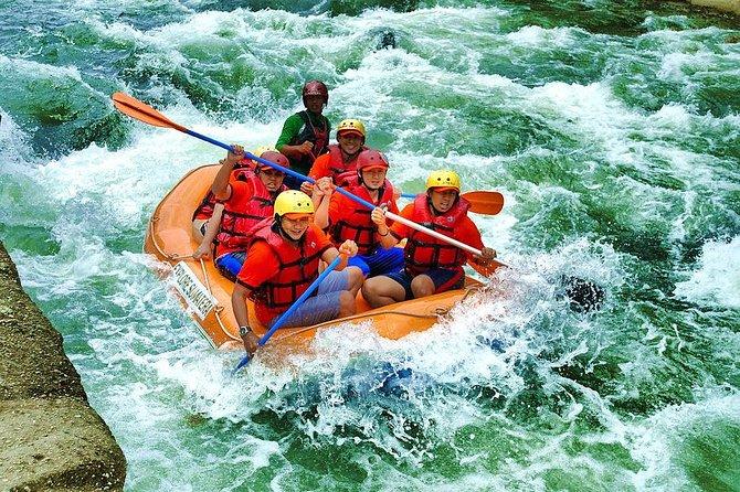 Private Tour: Full Day White Water Rafting in Sei Binge River & Medan City Tour