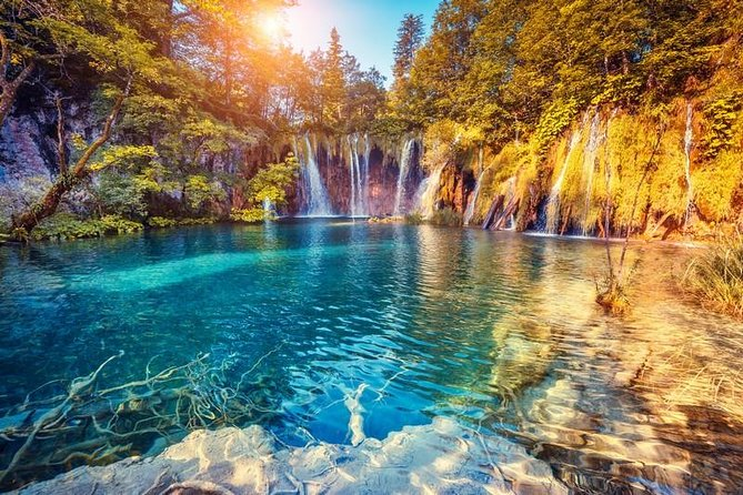 Zagreb to Split Group Transfer with Plitvice Lakes Tour Entrance ticket included