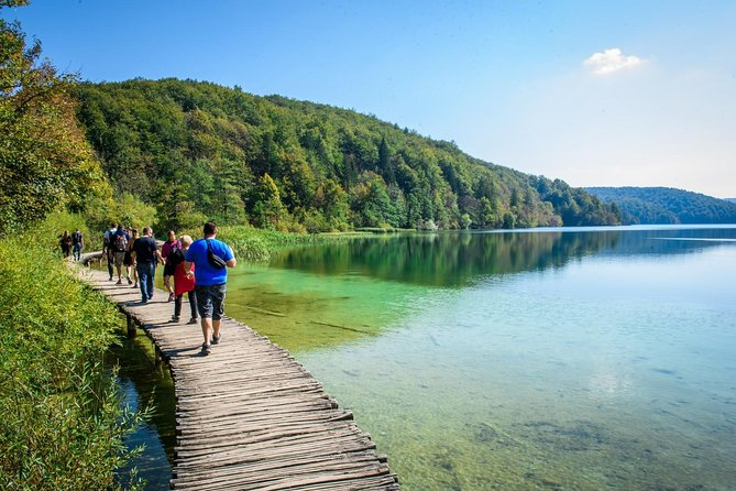 Plitvice Lakes and Rastoke Day Tour from Zagreb with Entrance tickets