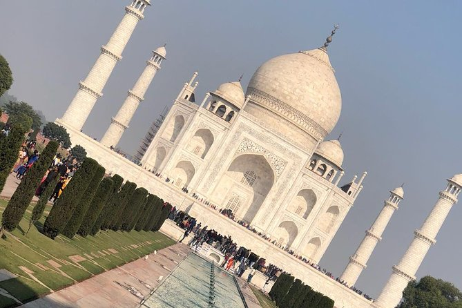 Taj Mahal & Agra All Inclusive Private Day Tour from Delhi by Car with Guide