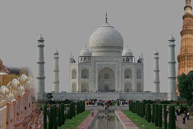 Private Golden Triangle India Delhi Agra Jaipur Tour by Car with Guide