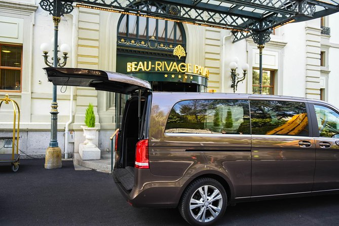 Private Transfer from Yvoire, France to Geneva Airport