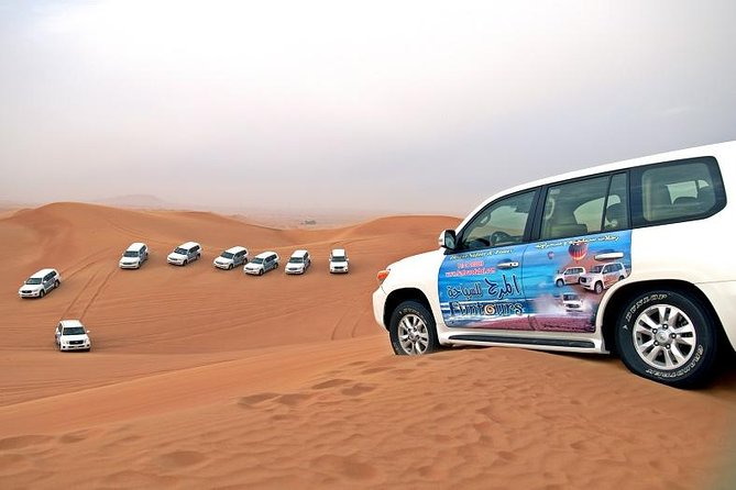 Dubai Desert Safari, Including BBQ and Al Hibab Red Dune Bashing
