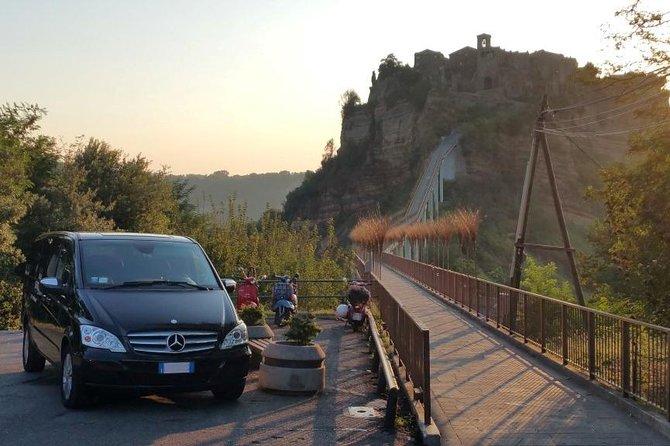 Orvieto to Civita di Bagnoregio Round Trip Shuttle Transfer