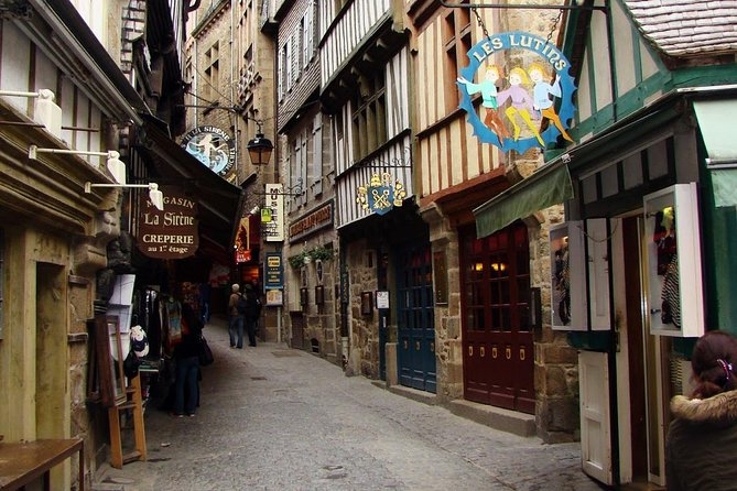 Cobbled Streets in the Mont St. Michel