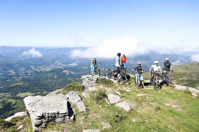 Excursion guidée en VTT électrique (4h) dans le Pays basque français