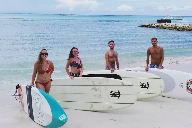 Stand Up Paddle Boarding Rental on Dickenson Bay