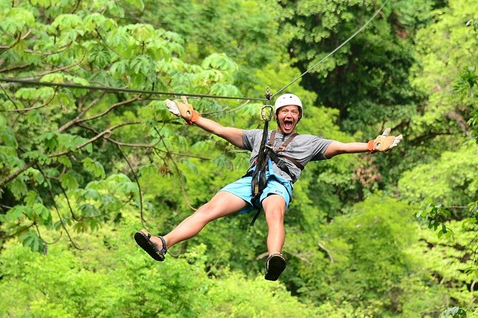 Jaco Beach & Los Suenos Zip Line Canopy Tour Adventure