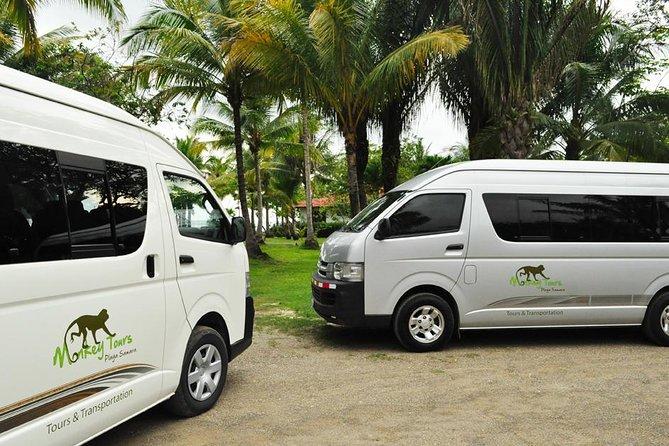 Transfer Liberia Airport to Samara and Carrillo Beach