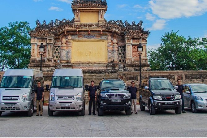 Transfer Phu Bai Airport to/from Hue City by Private Car Transport