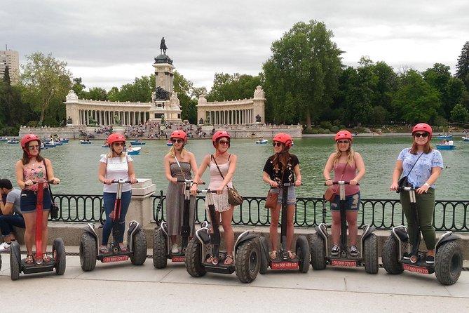 Magical Retiro Park Segway Tour in Madrid