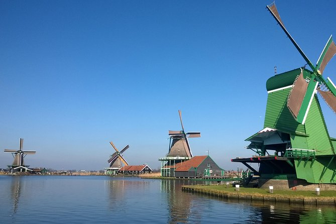 Zaanse Schans Day Trip from Amsterdam with Lunch