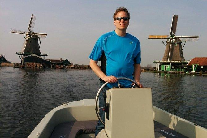 Cruzeiro fluvial Privado em Zaandam e Zaanse Schans saindo de Amsterdã