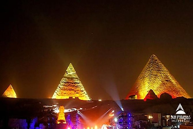 Cairo Layover Tour To Pyramids, The Egyptian Museum, Khan Khalili Bazaar And Sound & Light Show