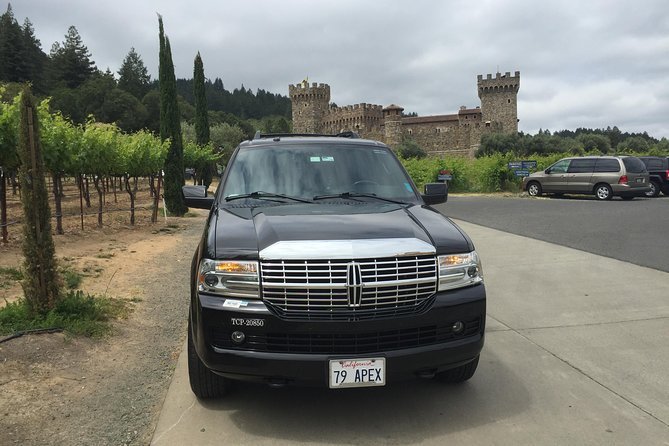 6-Hour Private Wine Country Tour of Napa Valley (up to 6 people) in Large SUV