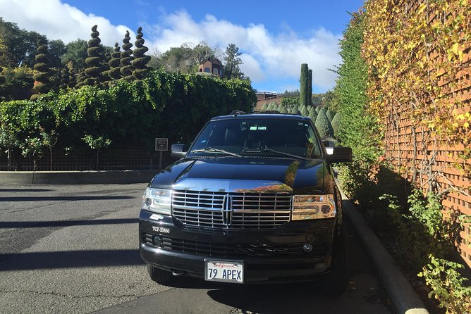 8-Hours Private SUV (up to 6 Passengers) San Francisco to Napa Valley Wine Tour