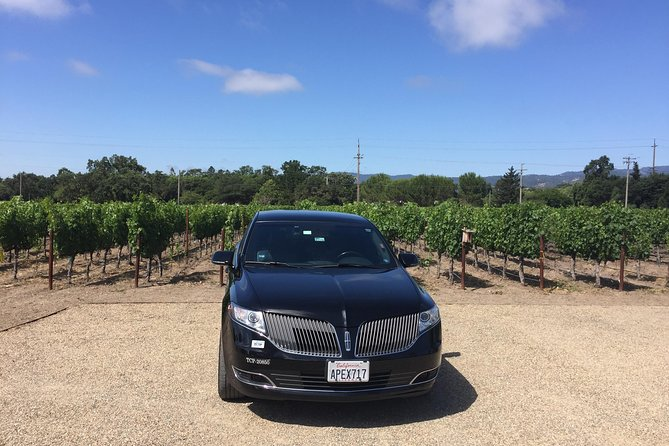 8-Hours San Francisco to Napa CA , Private Lincoln MKT Crossover up to 4 People