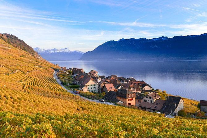 Riviera line To Montreux including Lavaux Unesco Trolley