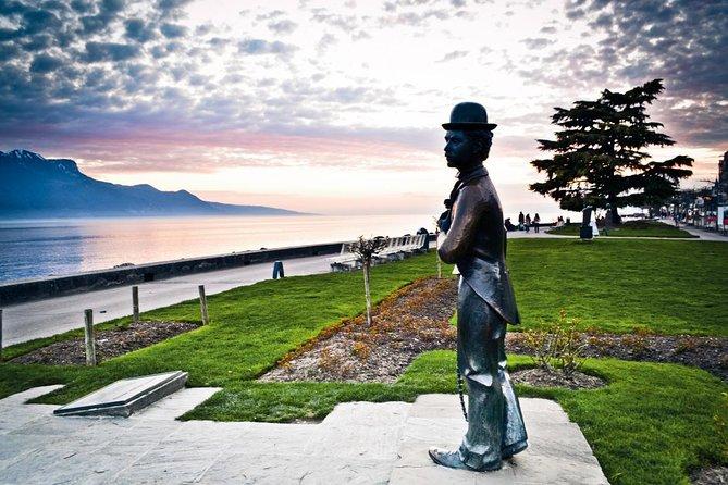 Linha Riviera para Vevey, o mundo de Chaplin, Montreux, tour Lavaux e cruzeiro opcional