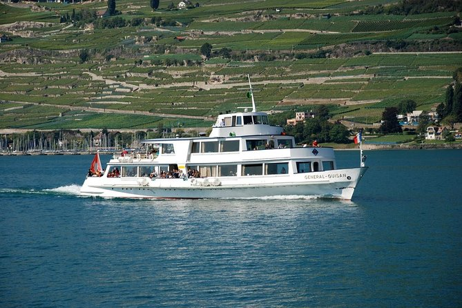 Riviera tour with long cruise in Montreux and Lavaux Unesco Tour from Lausanne