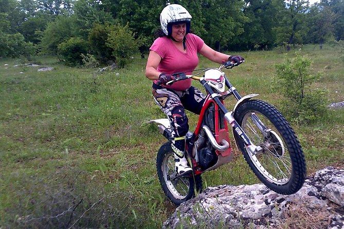 Moto trials Greece