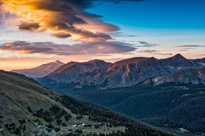 Sunrise along Trail Ridge Road