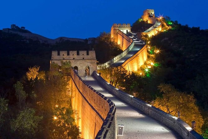 Beijing Private Night Tour to Gubei Water Town and Simatai Great Wall