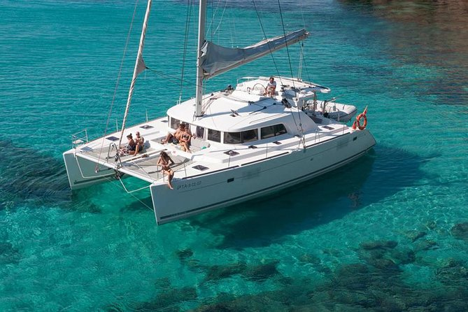 Exclusive Champagne Catamaran Sail & Snorkel