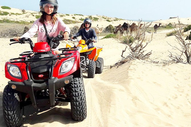 2h quad bike on the beach and in the dunes
