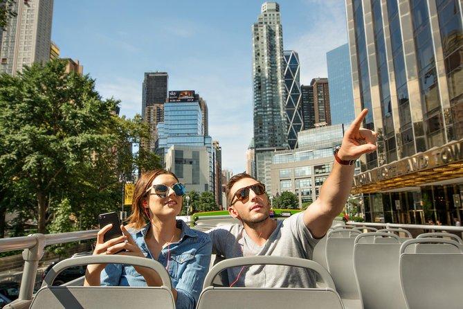 New York City Hop-On Hop-Off Busstur Uptown