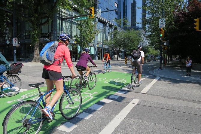 Tour in bicicletta del centro di Vancouver e Stanley Park