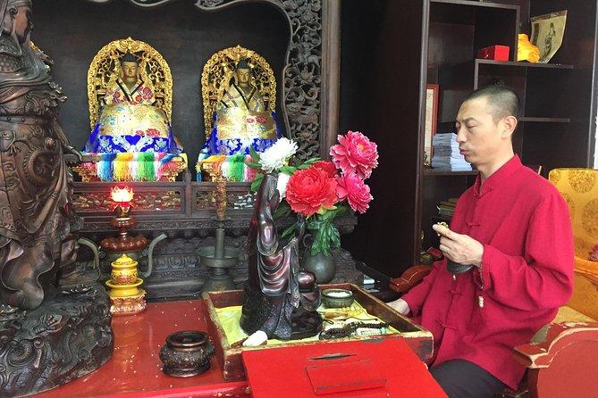 Excursão a pé particular de 3 horas incluindo a Cerimônia de Bênção do Monge no Templo de Lama