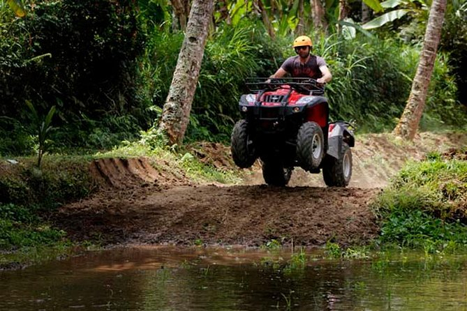Ubud ATV Ride and Ritual Bathing at Tirta Empul Temple