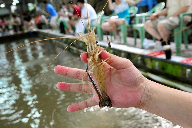 Ho Ja Taipei: Shrimp Fishing and Food Tasting in Shilin Night Market