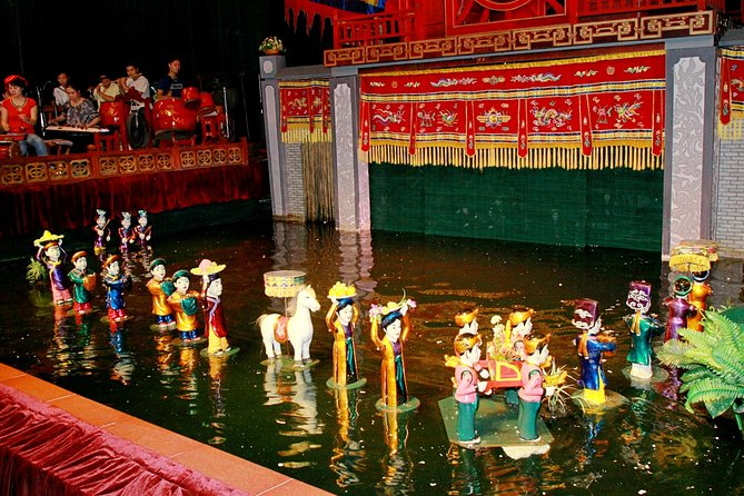 Water Puppet Show Ticket in Ho Chi Minh City with Hotel Delivery